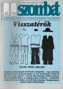 2001. áprilisi szám