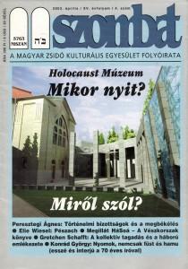 2003. áprilisi szám