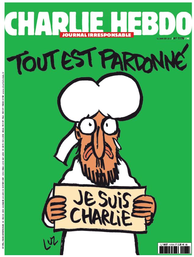 Szolidaritás a Charlie Hebdo-val