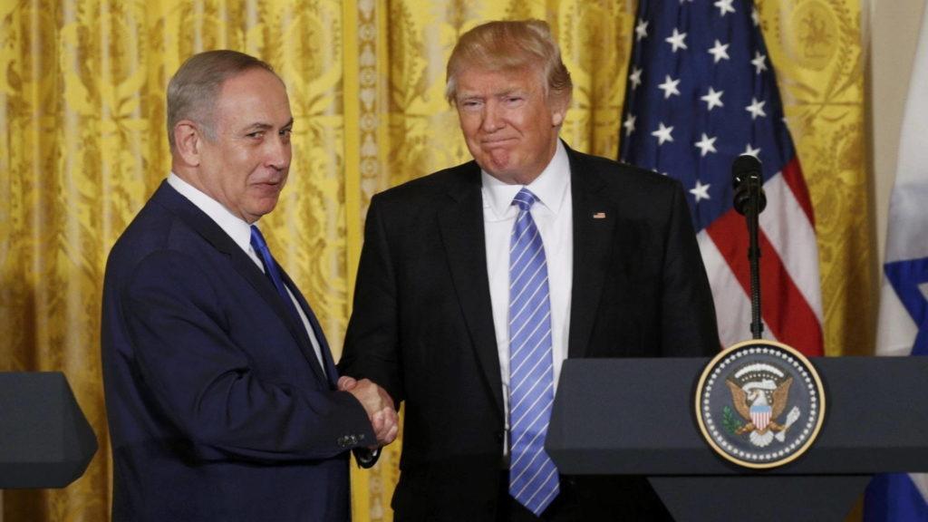 Trump egy védelmi szerződés lehetőségéről beszélt az Izraeli választások előtt