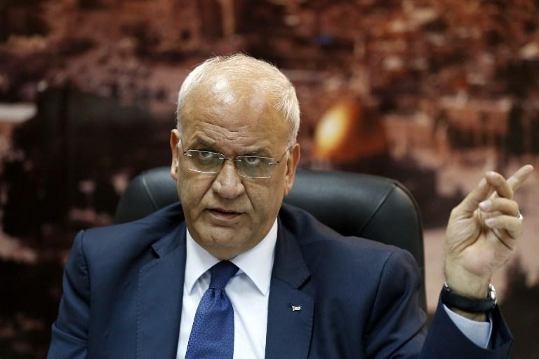 Életveszélyes állapotban a palesztin főtárgyaló