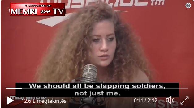 """""""Palesztin szabadságharcos"""" a Marie Claire ikonja"""