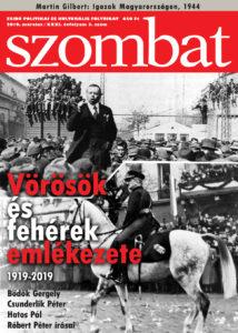Megjelent a Szombat 2019 márciusi száma