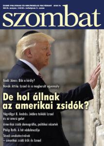 Megjelent a Szombat 2019. májusi száma