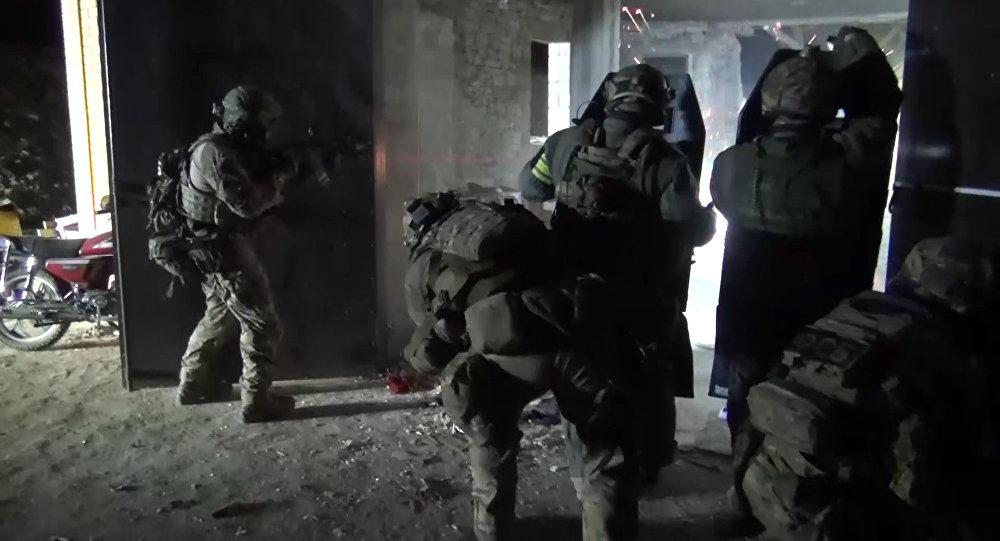 Merényletre készülő terroristákkal végeztek orosz hatóságok