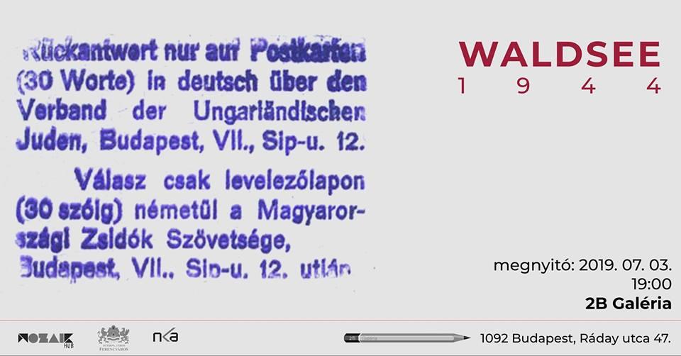 Mit írnál ma Auschwitzból? – Waldsee 1944