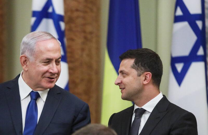 Izrael és Ukrajna kapcsolatainak erősítését szorgalmazta Netanjahu Kijevben