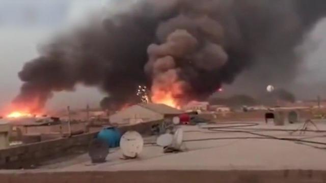 Izrael fegyverraktárt bombázott Irakban