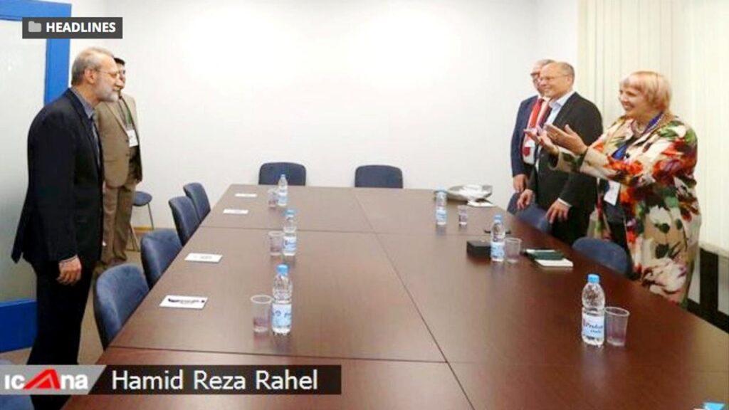 Német parlamenti képviselők találkozója iráni Holokauszt tagadó politikussal