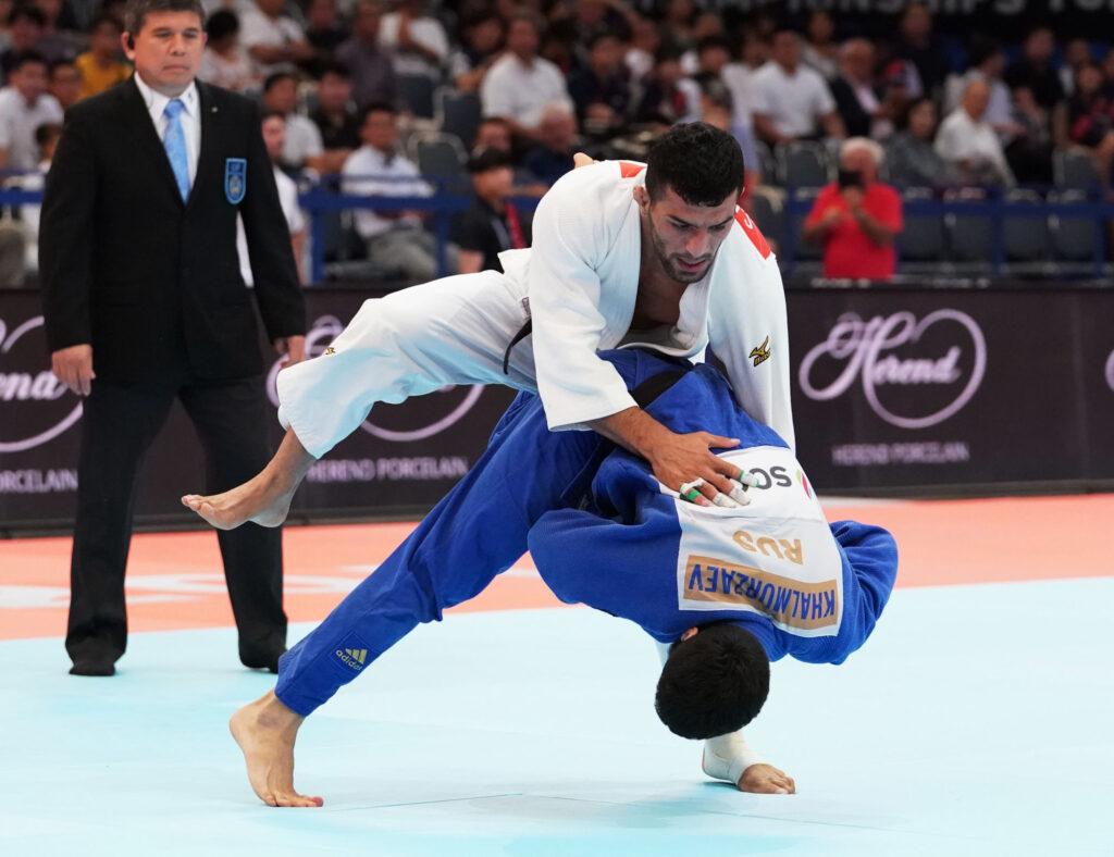 Iránt kizárták az összes nemzetközi cselgáncsversenyről