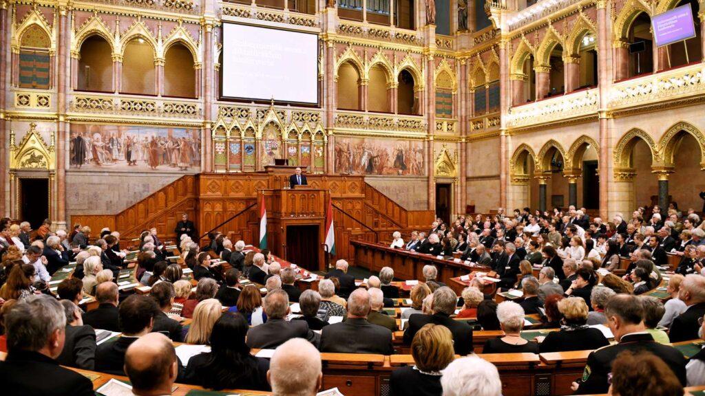 Konferencia a Parlamentben Koszorús Ferencről