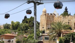 Jeruzsálemi gyorsvasút-sikló projekt: 40 perc alatt a reptértől a templomhegyig