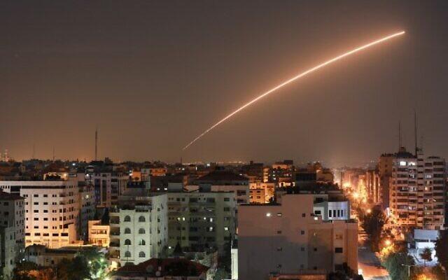 Hajnaltól újra gázai rakétatámadások érték Izraelt