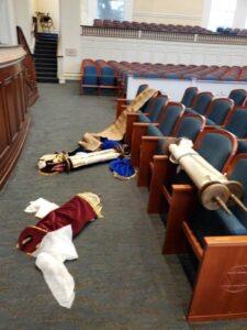 Beverly Hills: Vandál támadás egy zsinagóga ellen