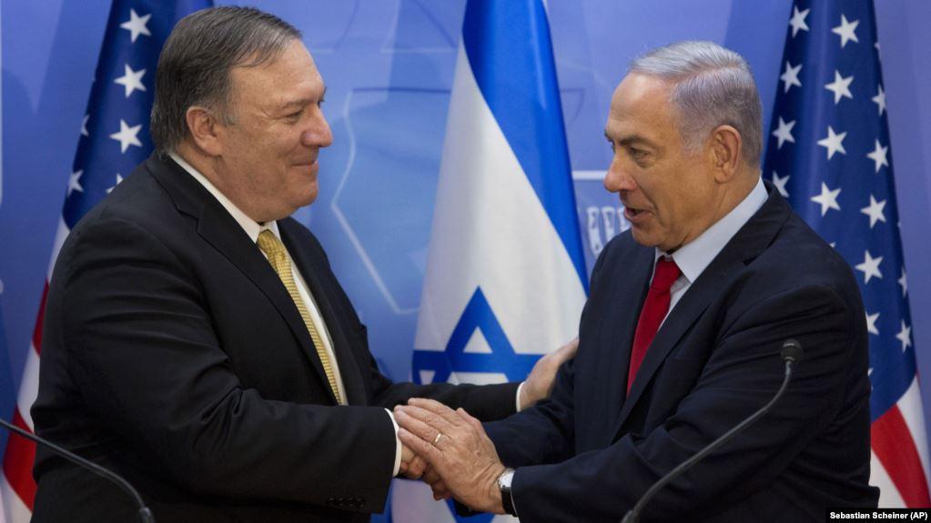 Iránról és más biztonsági kérdésekről tárgyalt Pompeo és Netanjahu
