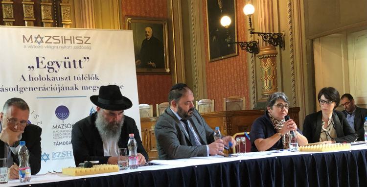 """Indul a Holokauszt túlélők második nemzedékét segítő """"Együtt"""" program"""