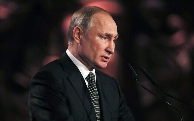 """Putyin: """"A zsidó vallási szervezetek hatalmas és fontos munkát végeznek"""""""