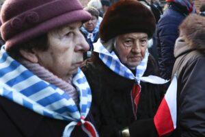 Auschwitzi megemlékezés a láger felszabadulásának 75. évfordulóján