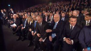 Jeruzsálem: Netanjahu, Putyin, Macron, Steinmeier, Pence, Károly herceg a felszólalók között