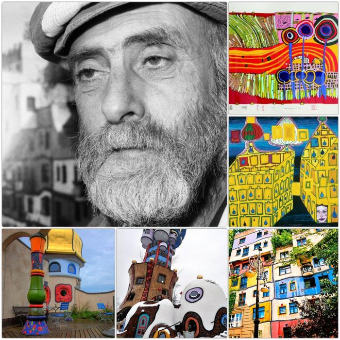 Hundertwasser: osztrák zsidó zseni és botrányhős