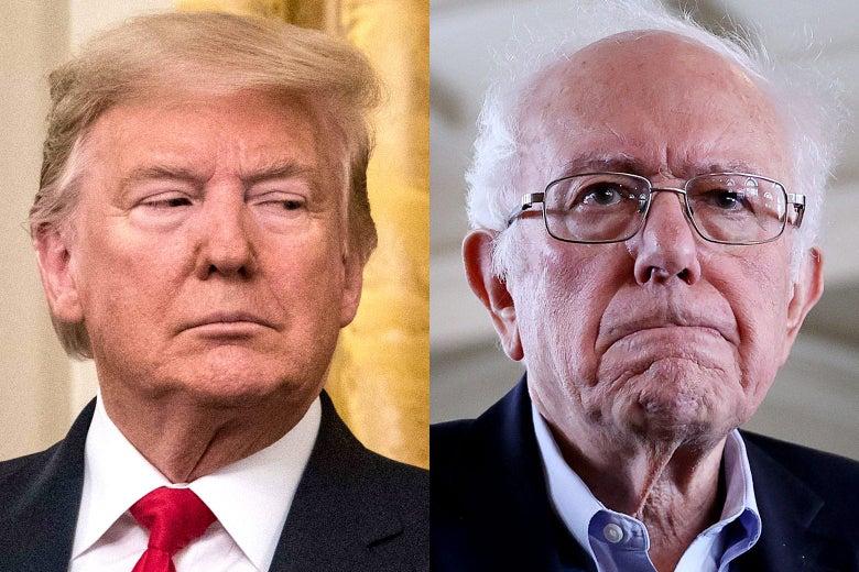 Trump vagy Bernie? – a zsidó rémálom