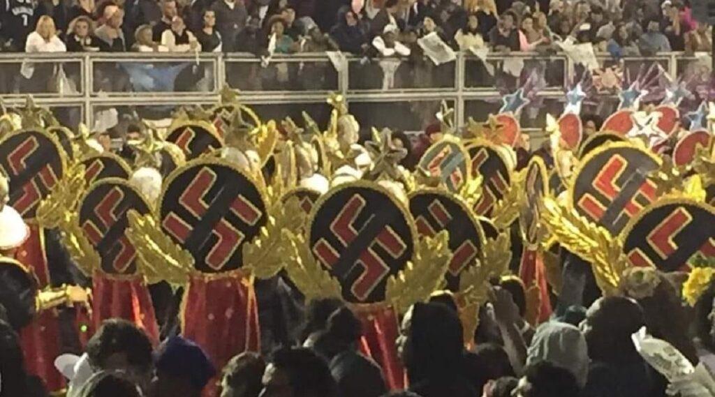 Karnevál és antiszemitizmus III. – horogkereszttel díszített jelmezek Rióban