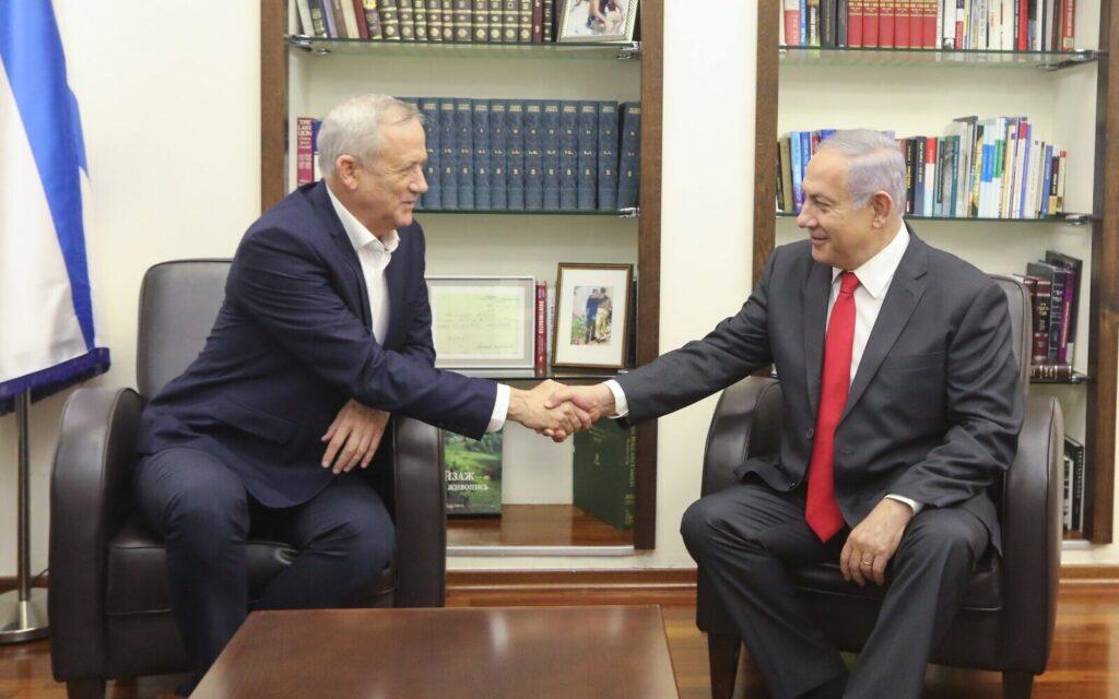 Akadozó koalíciós tárgyalások Netanjahu és Ganz között