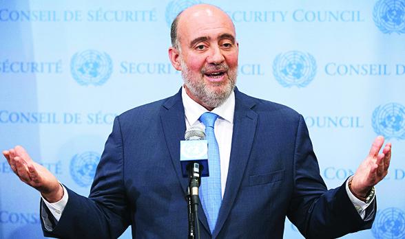 """Izraeli diplomata: """"Az ENSZ hármas mércét alkalmaz"""""""
