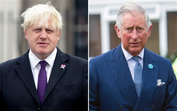Vírusfertőzött: Boris Johnson brit kormányfő, Károly brit trónörökös