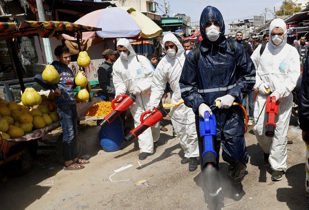 Koronavírus Gázában: ötszörösére nőtt a fertőzöttek száma