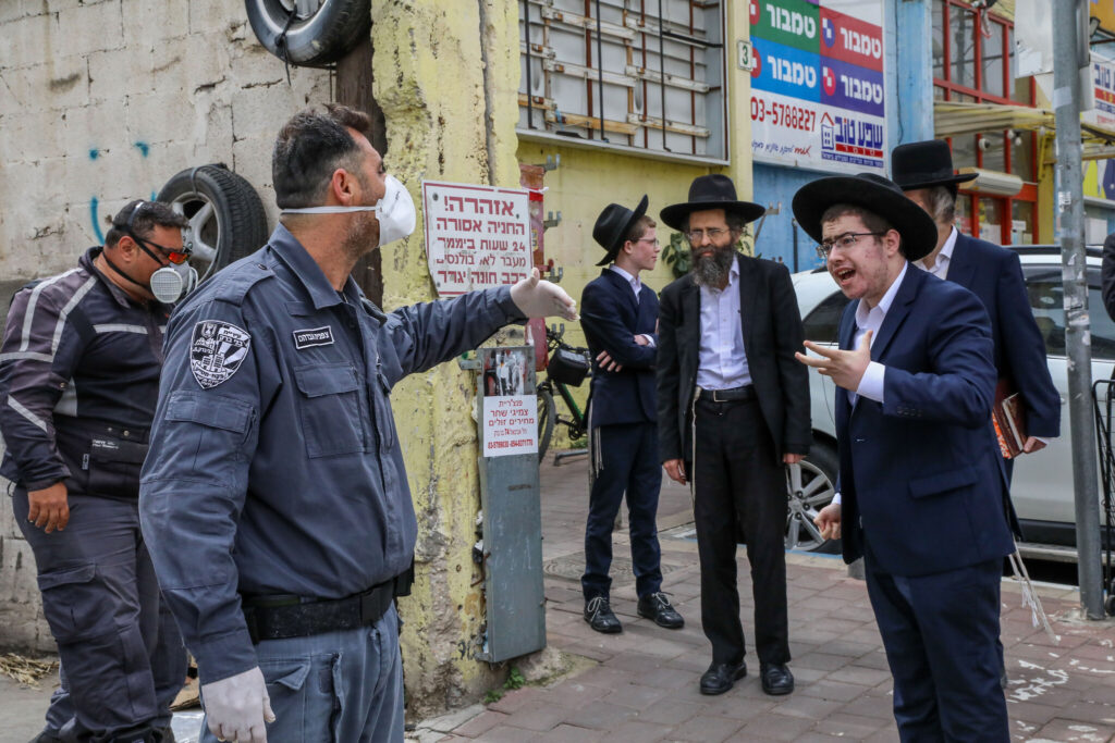 Bné Brak: Az ortodox város 40 százaléka fertőzött?