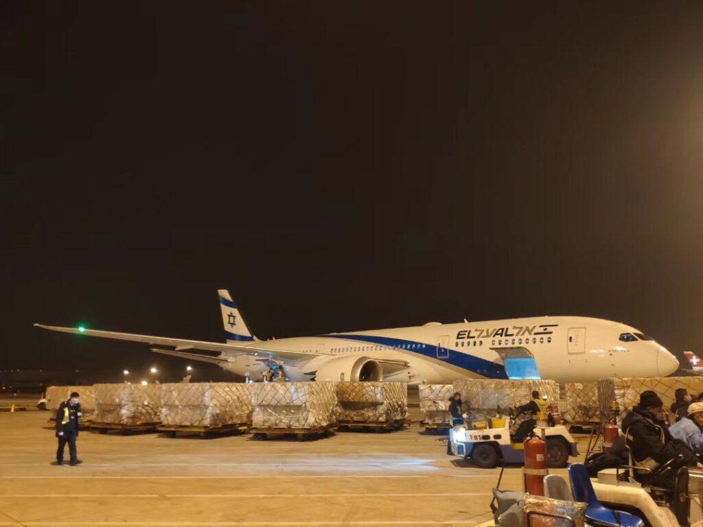 11 repülőgépnyi orvosi felszerelés érkezik Kínából Izraelbe