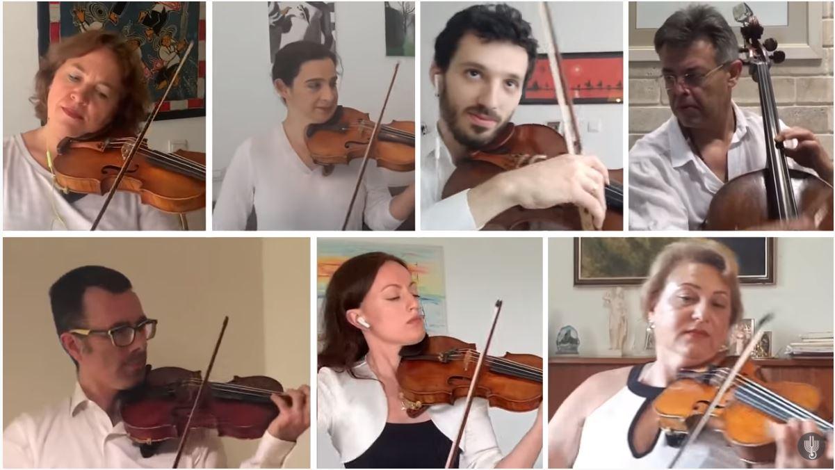 Így játszik Zoom-on egy szimfonikus zenekar