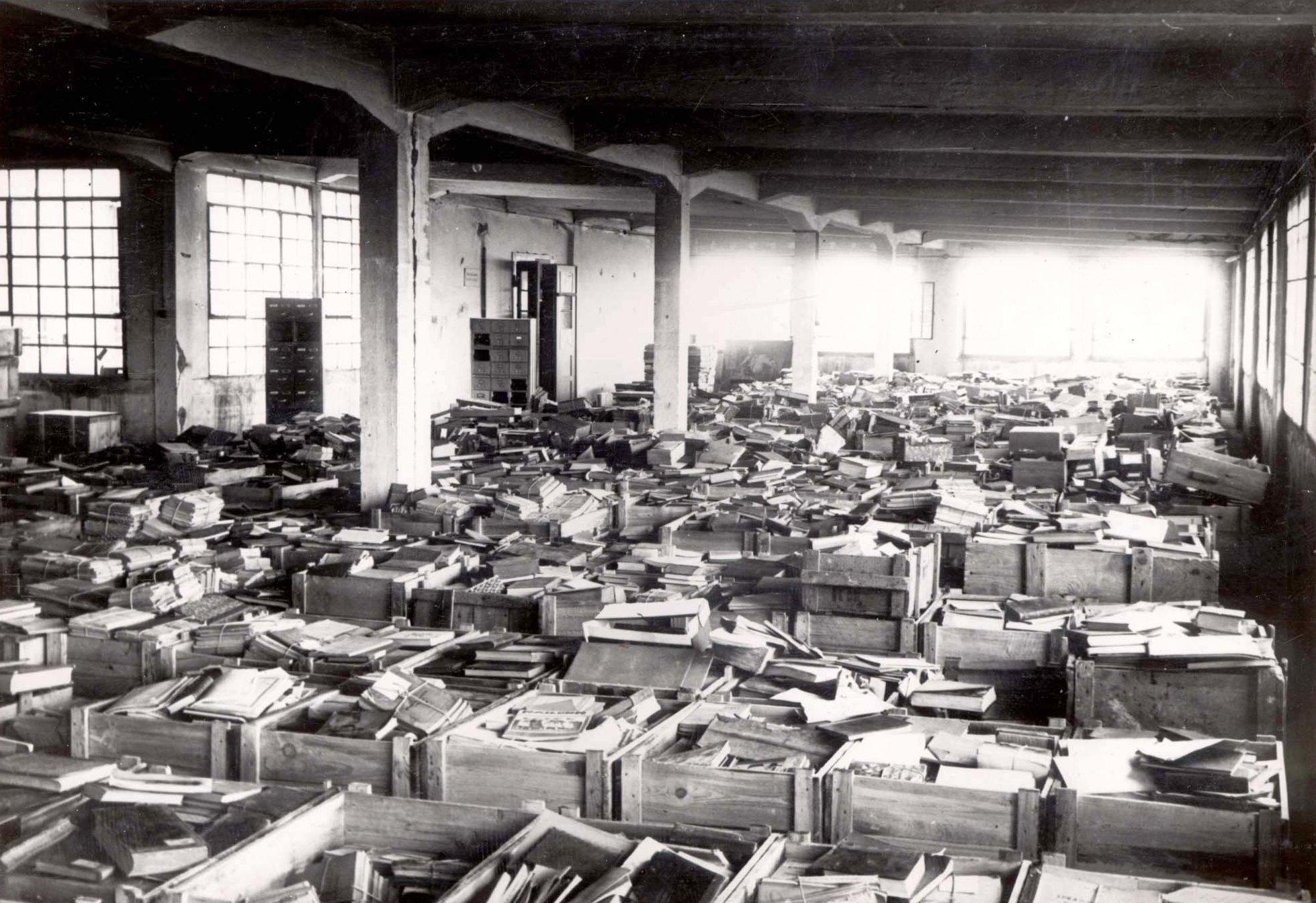A nácik által elrabolt könyvek sorsa a háború után