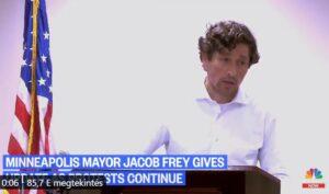Minneapolis zsidó polgármestere nehéz helyzetben