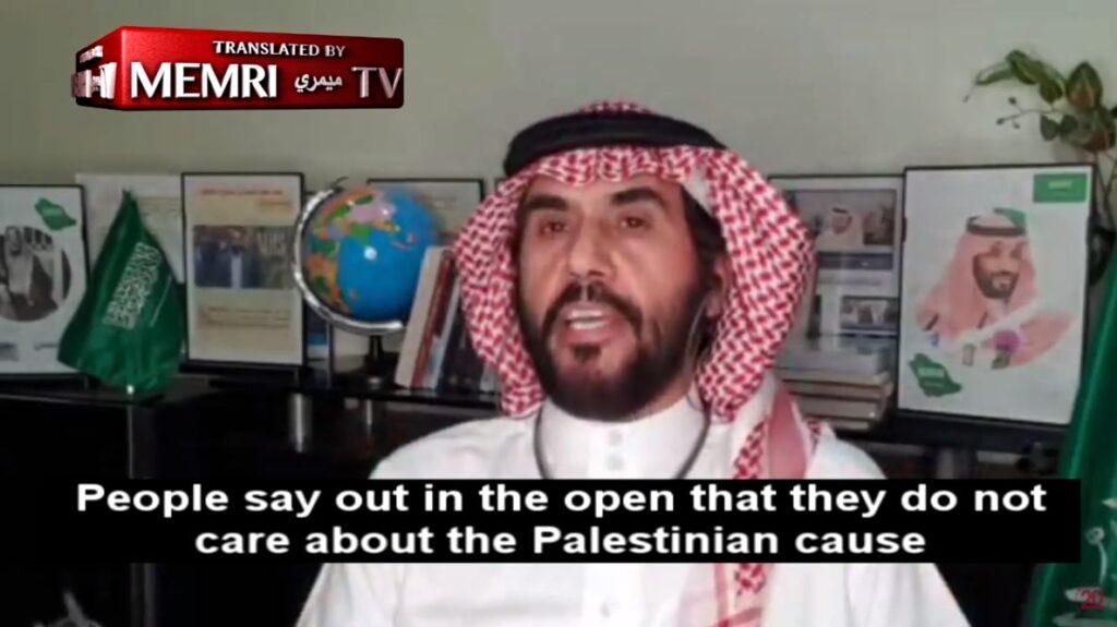 """Szaúdi író: """"A közvélemény nálunk a palesztinok ellen fordult, Izraellel jók a kapcsolataink"""""""