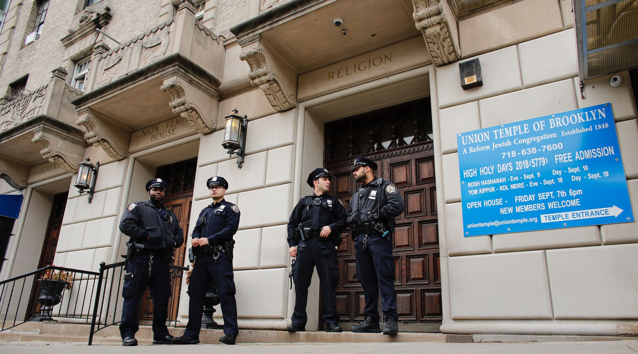 Rendőrség kontra antirasszisták – amerikai zsidók nehéz választása