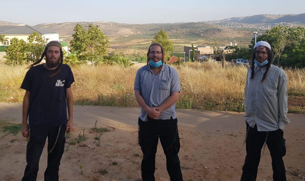 """A """"hegytetői ifjak"""" a palesztin zónába törekednek"""