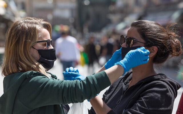 Újabb rekord: 1320 új fertőzött Izraelben – Gantz is karanténba vonult