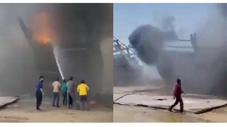 Irán: Legalább hét hajó lángol Bushehr kikötőben