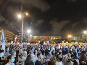 Tel Aviv: tízezren tüntettek a kormány gazdaságpolitikája ellen