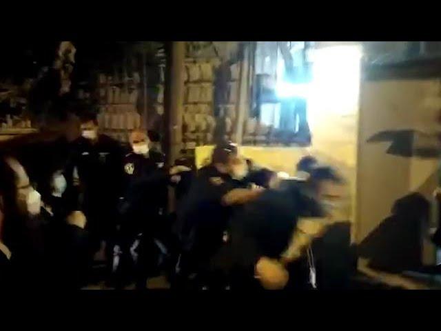 Összecsapás Jeruzsálemben ultraortodox tüntetők és rendőrök között