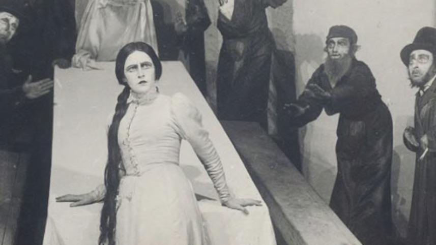 A modern héber színház kezdetei