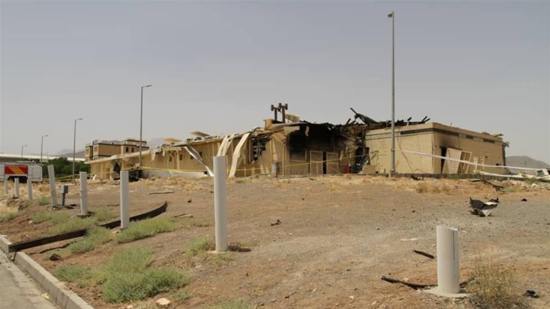 Tűz az iráni urándúsító központban – kíber-támadásra gyanakodnak