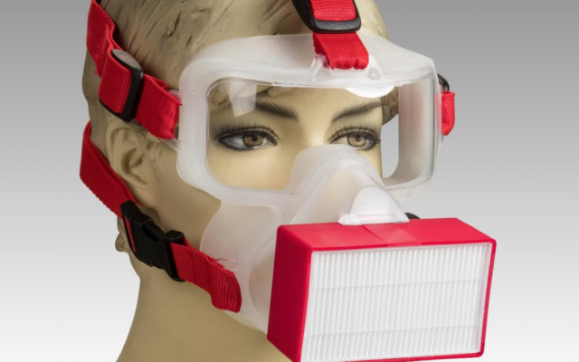 60 órát védő maszkot készítettek Izraelben