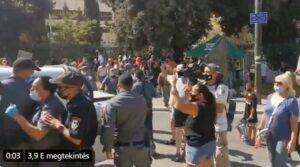 A Kneszet szavaz a tüntetések korlátozásáról