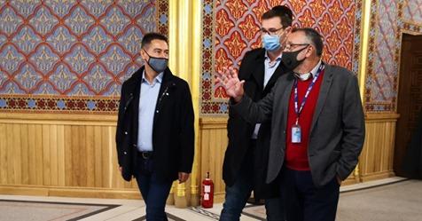 Fővárosi vezetők is bejárták a Rumbach zsinagógát