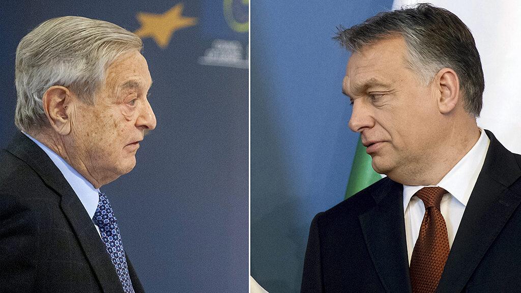"""Orbán: """"Zsidó-keresztény hagyományokkal"""" Soros """"brüsszeli birodalma"""" ellen"""