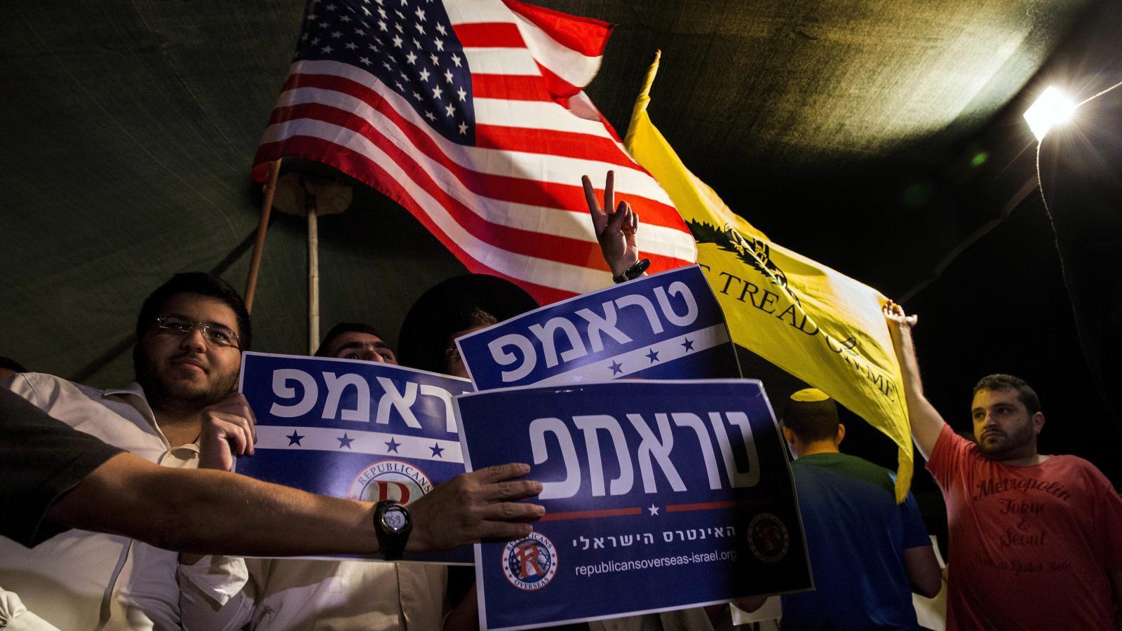 """""""Az izraeliek nyilván Trumpra szavaznának"""""""