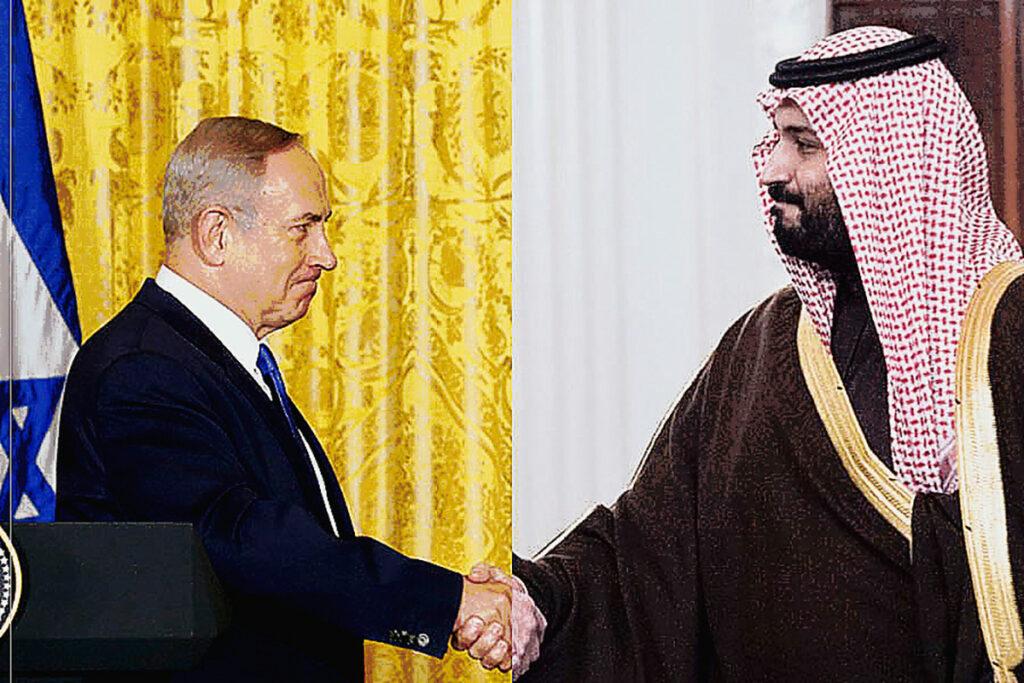 """Netanjahu """"titkos tárgyaláson"""" Szaúd Arábiában"""